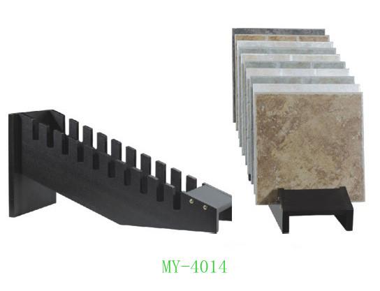 陶瓷展示架木插架木地板樣板架拋光墻地磚6